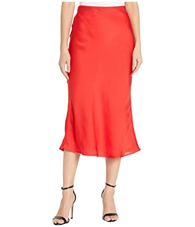 Sanctuary Everyday Midi Skirt (Party Red) Women