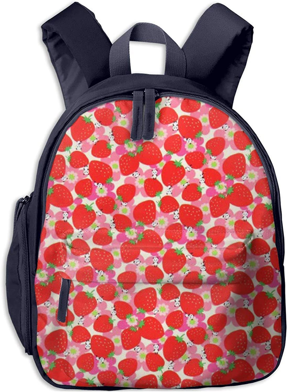 School Backpack Backpack Backpack for Girls Boys, Kids Cute Strawberry Cartoon Backpacks Book Bag B07LGY5C59  Guter Markt fa0abf