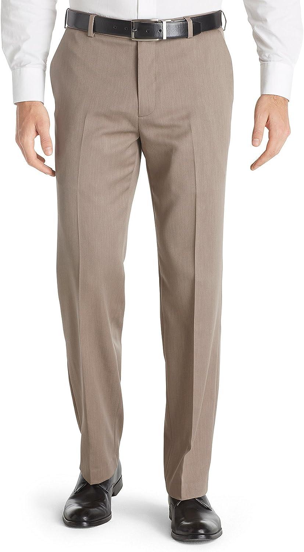 Max 77% OFF Van Heusen Men's Straight Fit Dress Front Flat Traveler List price Ultimate