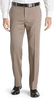 Van Heusen Men's Straight Fit Flat Front Traveler Ultimate Dress Pant