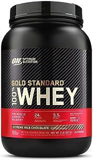 Optimum Nutrition 100% Whey Gold Standard,Extreme Milk Chocolate,2lb (0.9 kg)