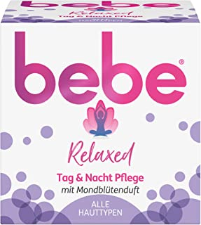 bebe Relaxed Day & Night Face Cream with Moon Blossom Fragrance All Skin Types 50 ml