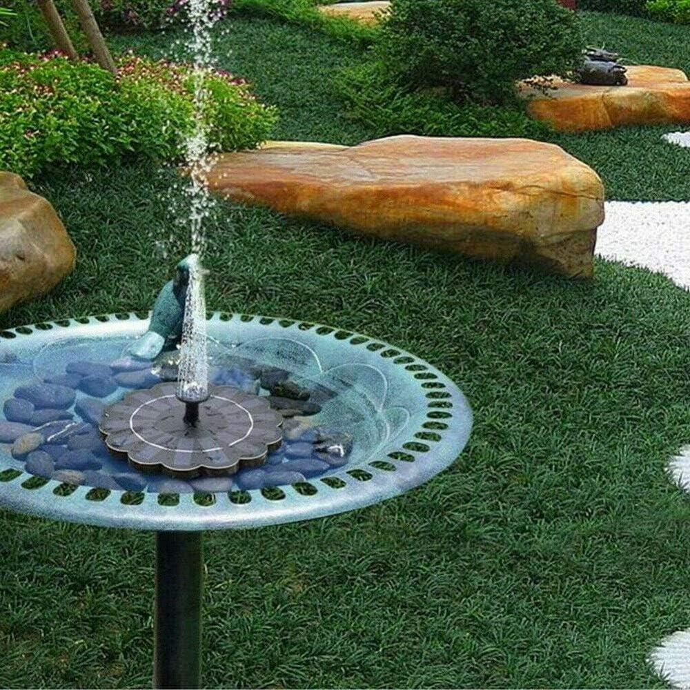 Max 45% OFF KLMN Free Standing Solar Fountain Al sold out. Bath Bird Floating Pump