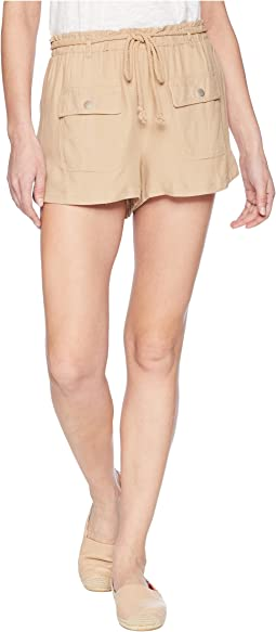 Jack by BB Dakota - Paisley Cargo Shorts with Rope Belt