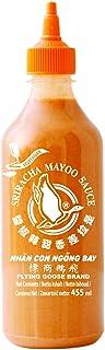 FLYING GOOSE Sriracha Mayoo Sauce - Mayonnaise, leicht scharf, orange Kappe, Würzsauce aus Thailand, 2er Pack 2 x 455 ml