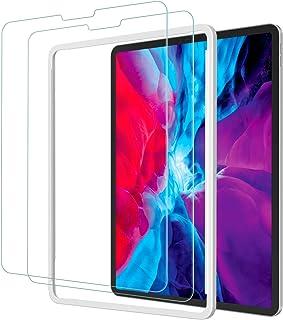 2枚セット NIMASO ガラスフィルム iPad Pro 12.9 インチ (2021 / 2020 / 2018) 用 液晶 保護 フィルム ガイド枠付き NTB20F81