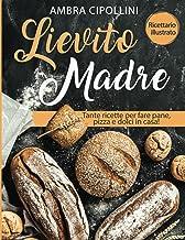 Lievito Madre: Tante ricette per fare pane, pizza e dolci in casa! Ricettario illustrato! (Italian Edition)