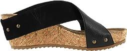 Black Nubuck/Soft Tumbled Leather