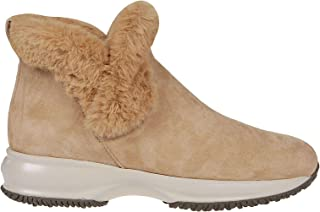 Luxury Fashion | Hogan Women HXW00N0AL80JFHC821 Beige Other Materials Ankle Boots | Autumn-winter 19