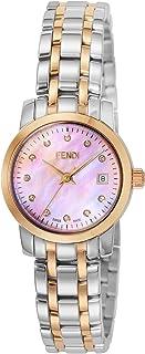 [フェンディ]FENDI 腕時計 ラウンドクラシコ ピンクパール文字盤 ダイヤ F217270D レディース 【並行輸入品】