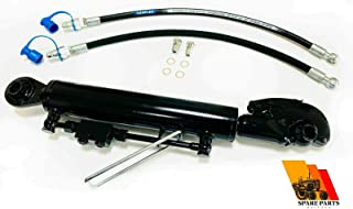 Hydraulische Oberlenker Kat. 2+2 Haken 210 mm Hub Sperrblockschläuche