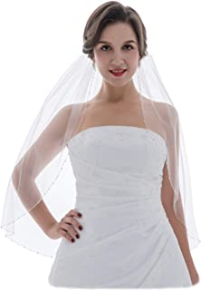 Best elbow length veil with crystals Reviews