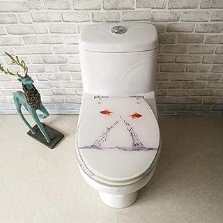 Goldfish Toilet Deksel Met Verstelbare Scharnier Quick Release Toilet Seat Cover Verdikte Badkamer Deksel Voor V/U/O-Vorm ...