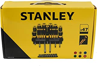 Stanley Tools ZSTA-0-62-146 Schroevendraaier & stopcontact Set van 47 in rack