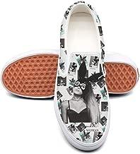 Uxsqjkndx Ariana-Grande-Dangerous-Woman- Print Slipon Sneakers Casual Shoes