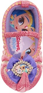 Nickelodeon Girl's Shimmer & Shine Slippers
