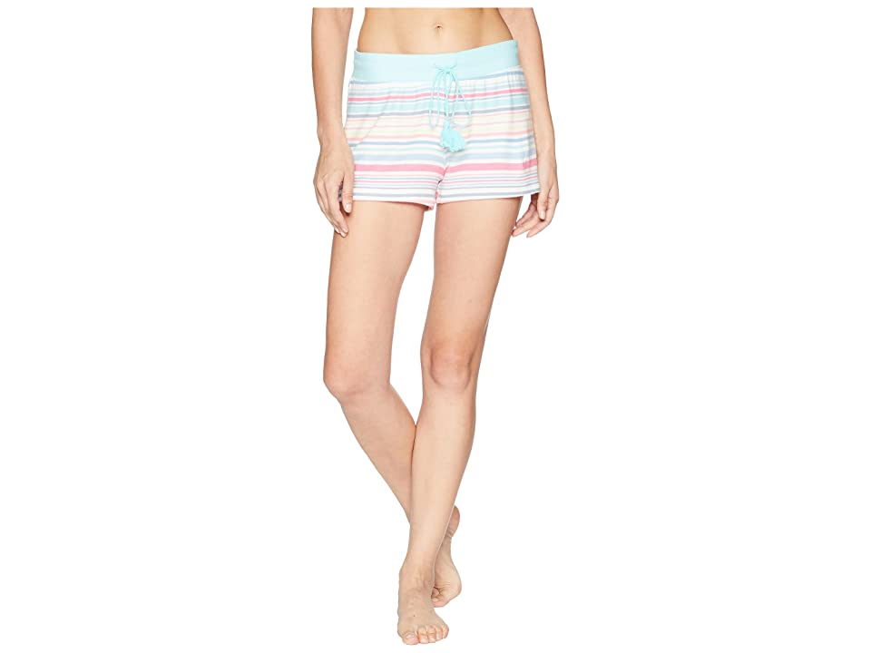 P.J. Salvage Tropicana Stripped Shorts (Multi) Women
