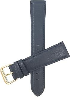 Bandini Bracelet de Montre en Cuir Italien pour Femme - Semi-rembourré - Couture - 3 Couleurs - 12mm, 14mm, 16mm, 18mm, 20mm