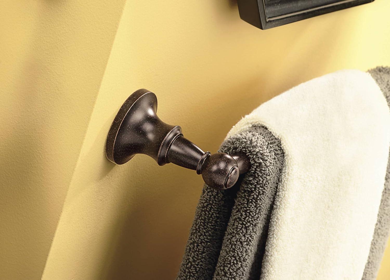Brushed Nickel Moen DN4424BN Vale 24-Inch Towel Bar