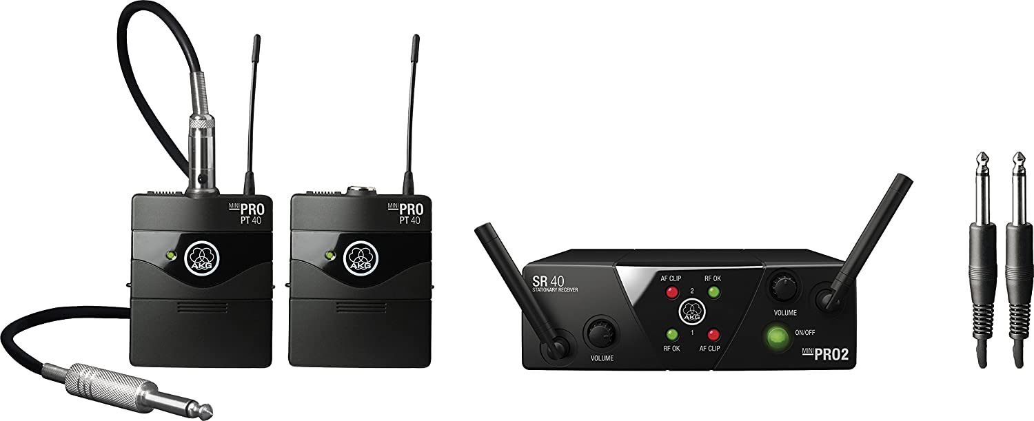 AKG Pro Audio 2 Virginia Beach Mall Wireless Transmitters and Microphones 3351H00 Max 76% OFF