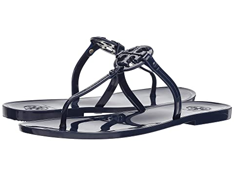 Tory Burch Mini Miller Flat Thong Bright Indigo Discounts Sale Online Really Online Perfect For Sale Cheap Exclusive Low Price Fee Shipping For Sale T2SpVg1