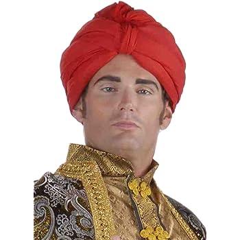Forum Novelties Men's Deluxe Costume Turban, Red, One Size