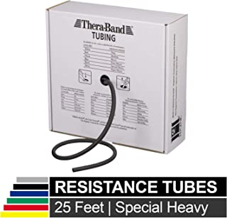 TheraBand Resistance Tubes, Professional Latex Elastic Tubing