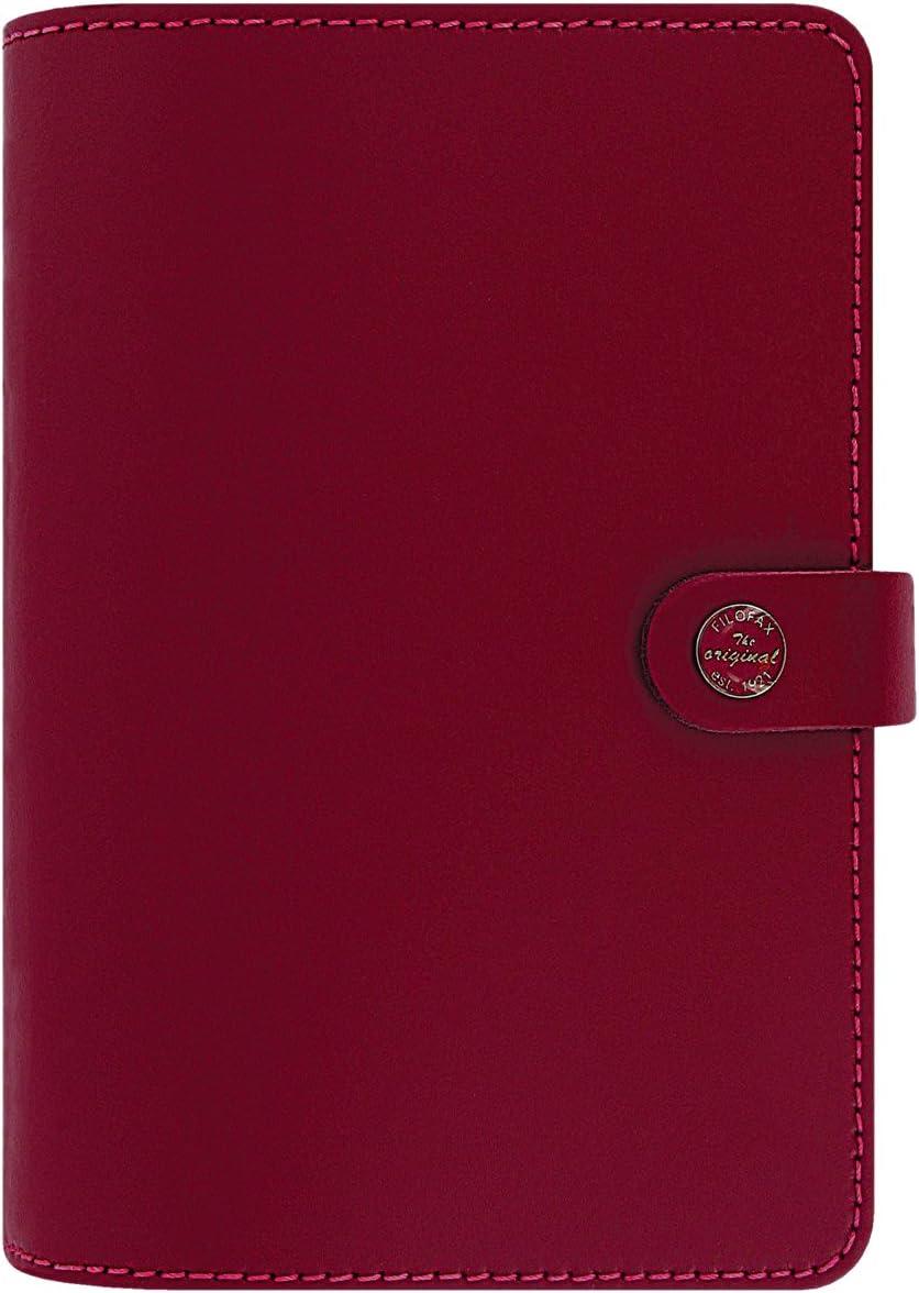 The Original Filofax Personal Organizer Pillarbox Red 2017 Calendar for sale online