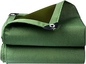 ZZYE Dekzeil Multi-Purpose Tarps Waterdicht Poly Tarp Cover Tent Shelter Camping Tarpaulin zonnezeil (Color : Green, Size...