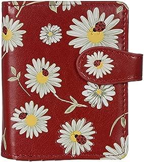 Shag Wear Women's Small Vegan Faux Leather Wallet With Inside Zipper Pocket