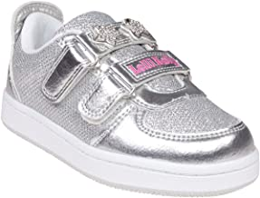 Lelli Kelly Colorissima Sneaker Silver Textile Infant Trainers
