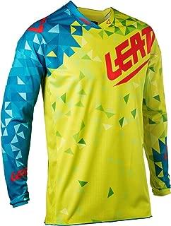 Leatt GPX 4.5 Lite Adult Off-Road Motorcycle Jersey - Lime/Teal/Medium