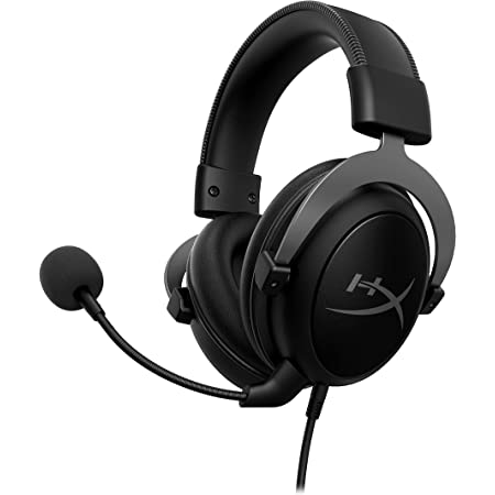 HyperX Cloud II - Gaming Headset, 7.1 Surround Sound, Memory Foam Ear Pads, Durable Aluminum Frame, Detachable Microphone, Works with PC, PS5, PS4, Xbox Series X|S, Xbox One – Gun Metal