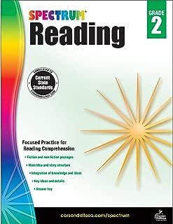 Spectrum Paperback Reading Workbook, Grade 2, Ages 7-8