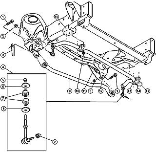 Suspension Stabilizer Bar Link Nut Mopar 0650 2835