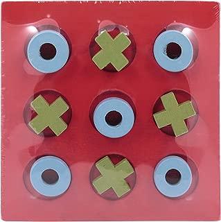 Canoe Tic Tac Toe Game Board - CT171216RJ143, Red