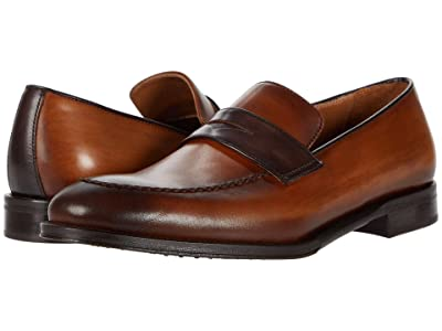 Bruno Magli Arezzo (Cognac/Dark Brown) Men