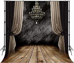 wedding backdrop with chandelier