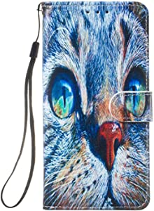 Huawei Mate Lite Case  Reevermap Flip Protective Leather Wallet Card Holder Phone Cover for Huawei Mate Lite with Magnetic Buckle Build-in Kickstand  Owl