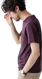 [ナノユニバース] Anti Soaked ヘビー クルーネック Tシャツ メンズ