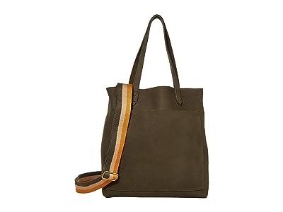 Madewell Medium Transport Tote in Nubuck (Deep Marsh) Tote Handbags