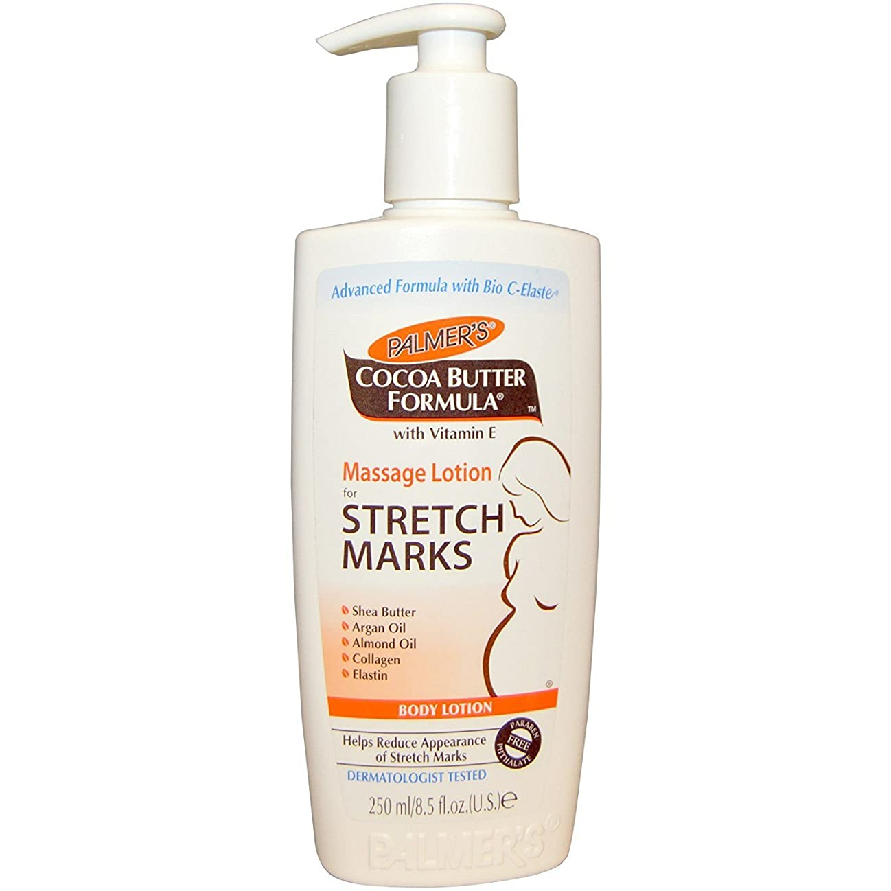 ペナルティ狂う労苦Palmer's Cocoa Butter Formula Massage Lotion For Stretch Marks with Vitamin E and Shea Butter Women Body Lotion, 8.5 Ounce by Palmer's [並行輸入品]