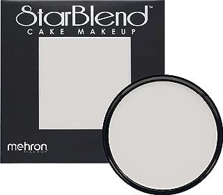 Mehron Makeup StarBlend Cake Makeup MOONLIGHT WHITE – 2oz