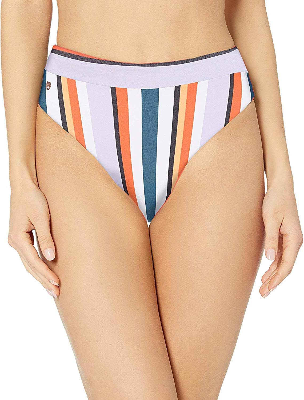 Maaji Women's Suzy Q Reversible High Waist Bikini Bottom Swimsuit