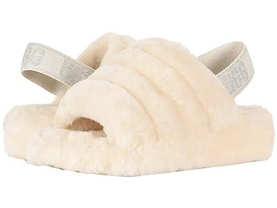 UGG Fluff Yeah Slide (Cream) Women