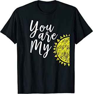 Cute You Are My Parent Child Matching Sunshine Shirt