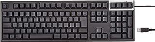 東プレ REALFORCE R2 SA 日本語112キー 静電容量方式 USB 静音/APC機能付き 荷重30g 昇華印刷(墨) かなナシ ブラック R2SA-JP3-BK-SHK