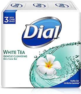 Dial Clean & Soft Glycerin Bar Soap, White Tea & Vitamin E, 4 oz bars, 3 ea (Pack of 5)
