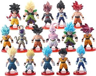 ست بسته بندی کیک 16 بسته Dragon Ball Z - انیمیشن فیگور مدل کلکسیونی کیک تولد Goku
