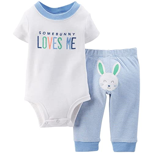 feaeb84ab Carter's Baby Boys' Easter 2-Piece Bodysuit Set